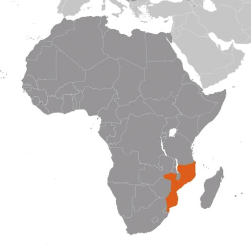 Moçambique karta